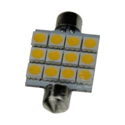 Buislampje Festoon 41mm 12 leds