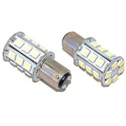 Bayonet lampje BA15D/P21 24 LEDs
