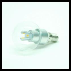 3W E14 LED Kogellamp Warm Wit helder
