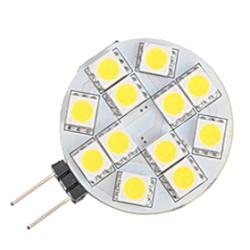 G4 rond 12 LEDs 12 Volt