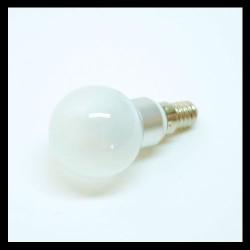 3W Dimbare LED Kogellamp Warm Wit mat
